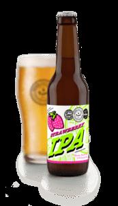 Ibosim Strawberry IPA. CErveza Ibiza. Ibiza Beer Company