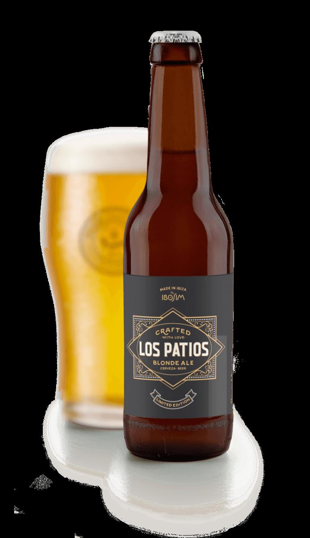 Los patios cerveza exclusiva personalizada. ibosim craft beers.