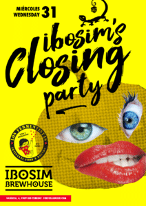 ibosim brewhouse closing party. Halloween Ibiza, Los fermentistas ibiza. Party, cerveza de tirador