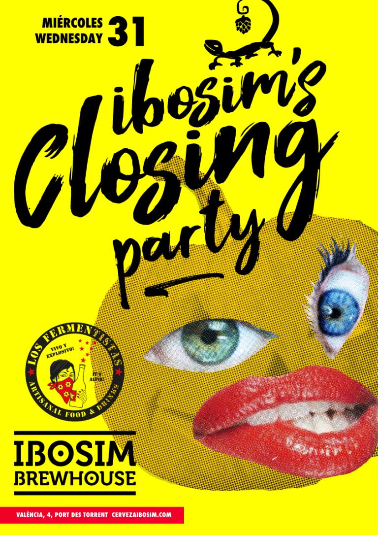 ibosim brewhouse closing party. Halloween Ibiza, Los fermentistas ibiza. Party, cerveza de tirador