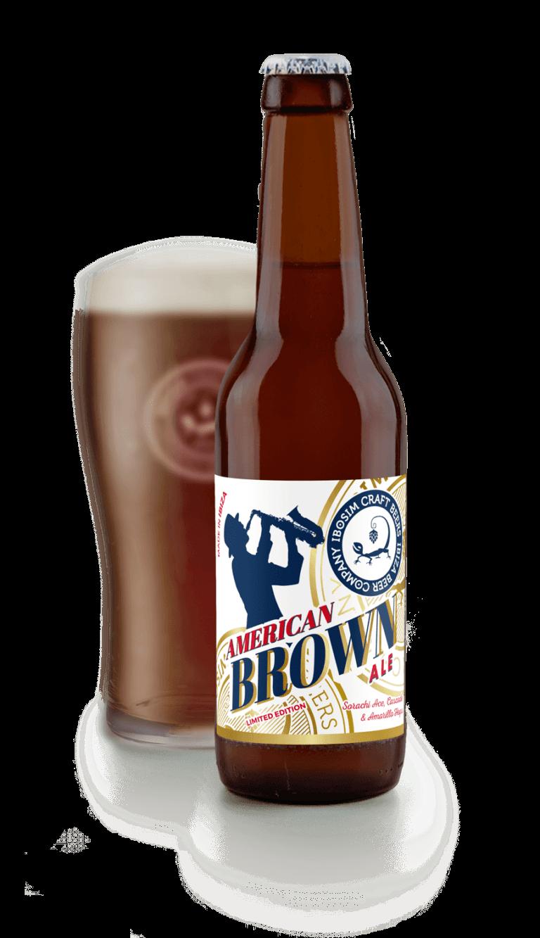 Botella de Cervezas Ibosim American Brown Ale agotada