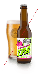 Botella de Cervezas Ibosim Strawberry IPA agotada
