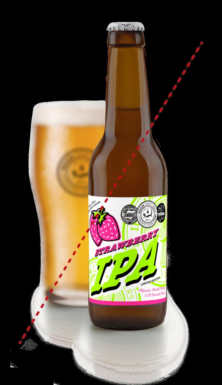 Botella de Cervezas Ibosim Strawberry IPA agotada