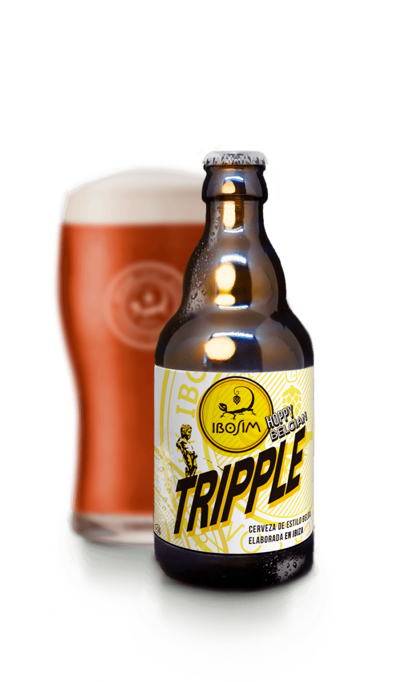 Botella de Ibosim Hoppy Belgian Tripple agotdad