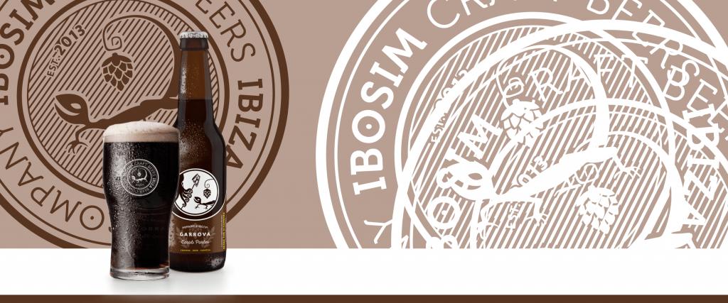 crea- vasos 2019 garrova carob porter, algarroba, ibosim craft beers