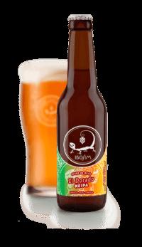 El Dorado NEIPA. Cervezas Ibosim. La cerveza de Ibiza