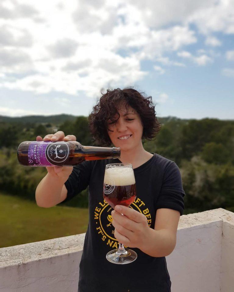 Revolution Brown Ale, Cervezas Ibosim. Ibiza craft beer brewery