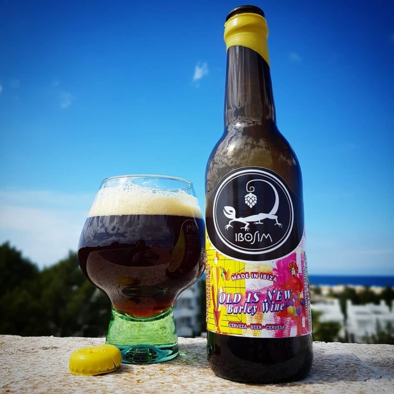 Cervezas Ibosim Barley Wine Old is new. Brewery Ibiza