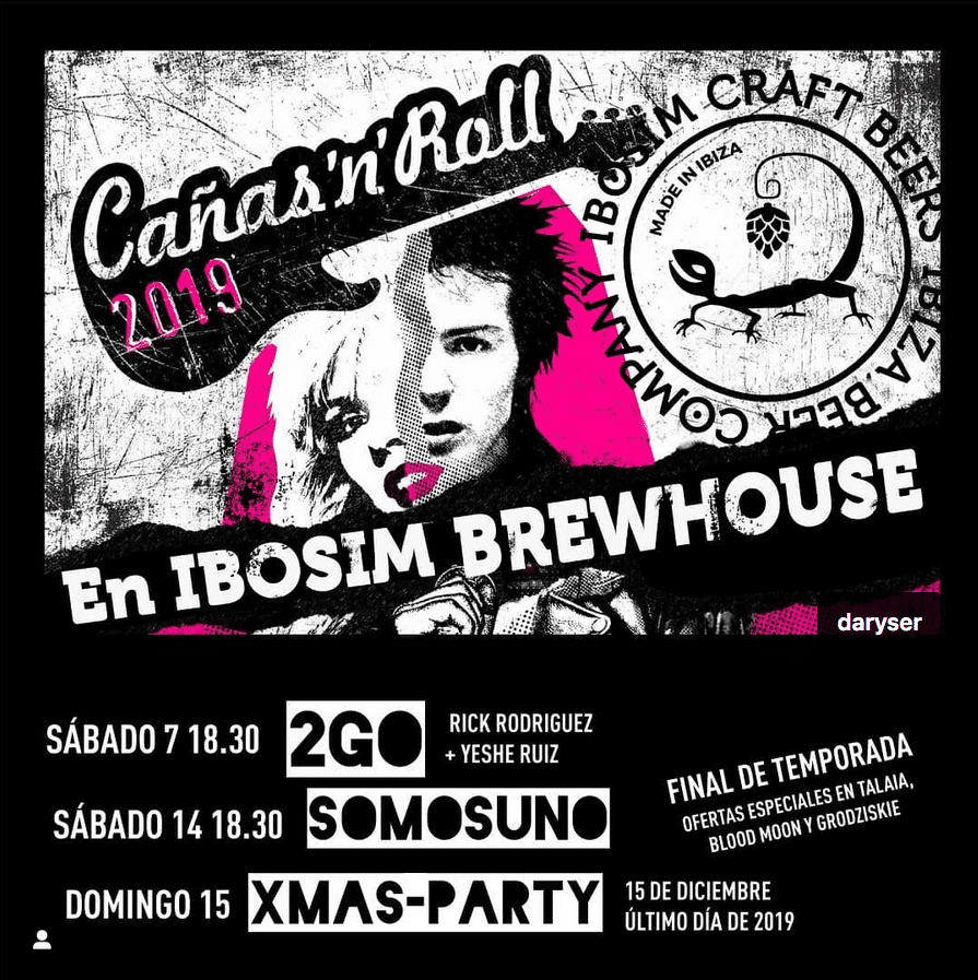 Cañas'n'roll 2019 Sant josep Ibiza, ibosim craft beer, Port des torrent