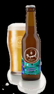 Ibosim Equinox DDH Kveik IPA. Ibosim Craft Beers. Brewery Port des Torrent Ibiza