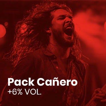 Banner pack rockero Cervezas Ibosim. La cerveza de Ibiza
