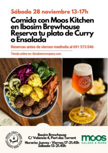 Ibosim Craft Beers Moos Kitchen. Ibiza craft beer
