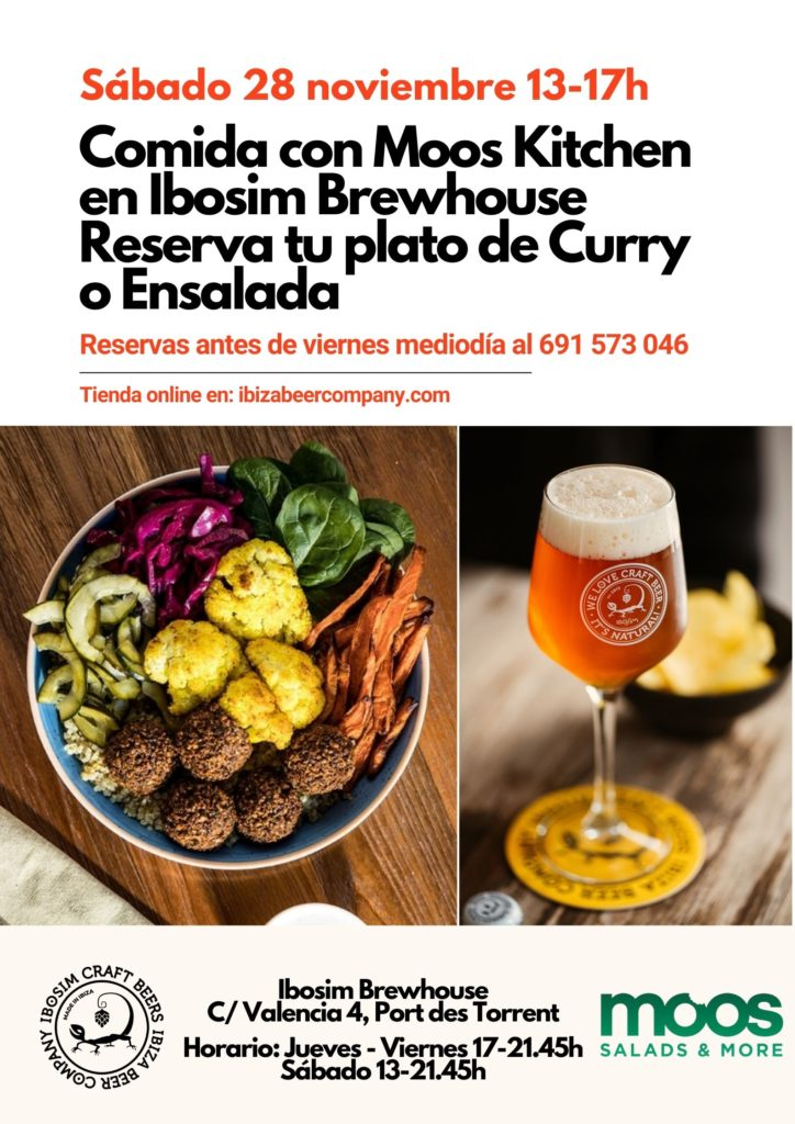 Ibosim Craft Beers Moos Kitchen. Ibiza craft beer