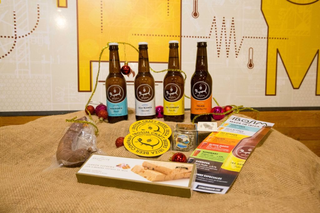 Pack navidad Ses Salines. Ibiza Beer Company. Ibosim Craft Beers