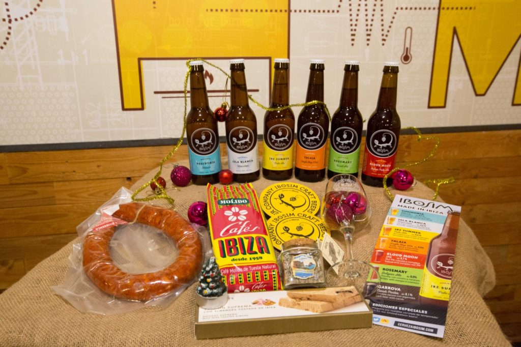 Pack Dalt Vila navidad. Ibiza Beer Company. Ibosim Craft Beers