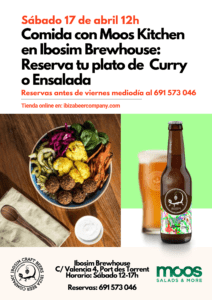 Moos salads Ibosim brewhouse abril 2021
