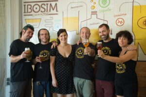 Equipo Ibosim Brewhouse Ibiza Beer Company